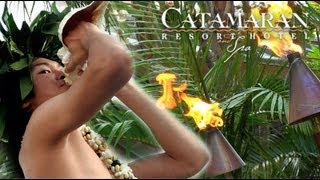 Torch Lighting Ceremony at the Catamaran Resort Hotel and Spa