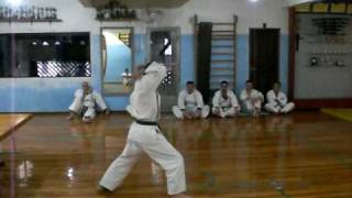 沖縄 空手道 剛柔流 尚武館 Dalmo Toko - Shisochin. (Okinawa Karate-do Goju Ryu Shobukan)