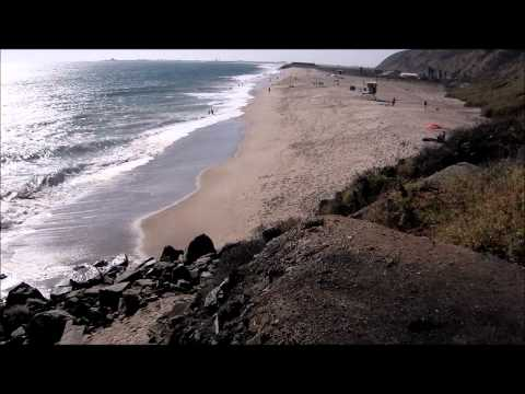Views of Mugu Rock and Adjacent Beach in Malibu