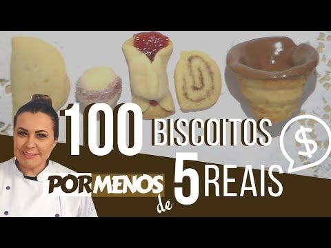 Faça 100 Biscoitos com menos de 5 reais: Faça e Venda - Denise Ferreira