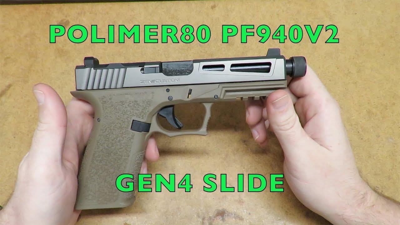 Polymer80 PF940V2 gen 4 slide conversion