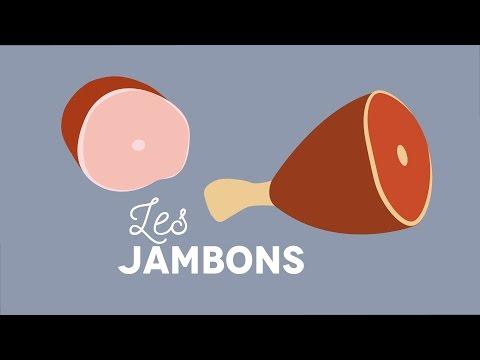 Les jambons - Les Carnets de Julie