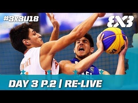 🔴 LIVE - FIBA 3x3 U18 Europe Cup 2017 - Day 3 Pt.2 - Debrecen, Hungary