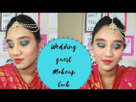 Makeup tutorial in Telugu(INDIAN WEDDING GUEST MAKEUP TUTORIAL FOR BEGINNERS)KRI GA
