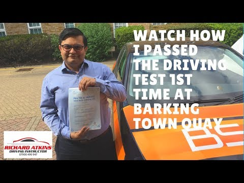 Barking Driving Test Route 14 August 2017 14.27pm Arn