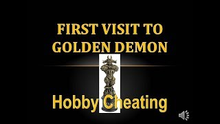 Hobby Cheating - My First Time at Golden Demon