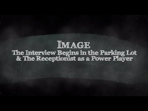 Image; the Interview Begins in the Parking Lot