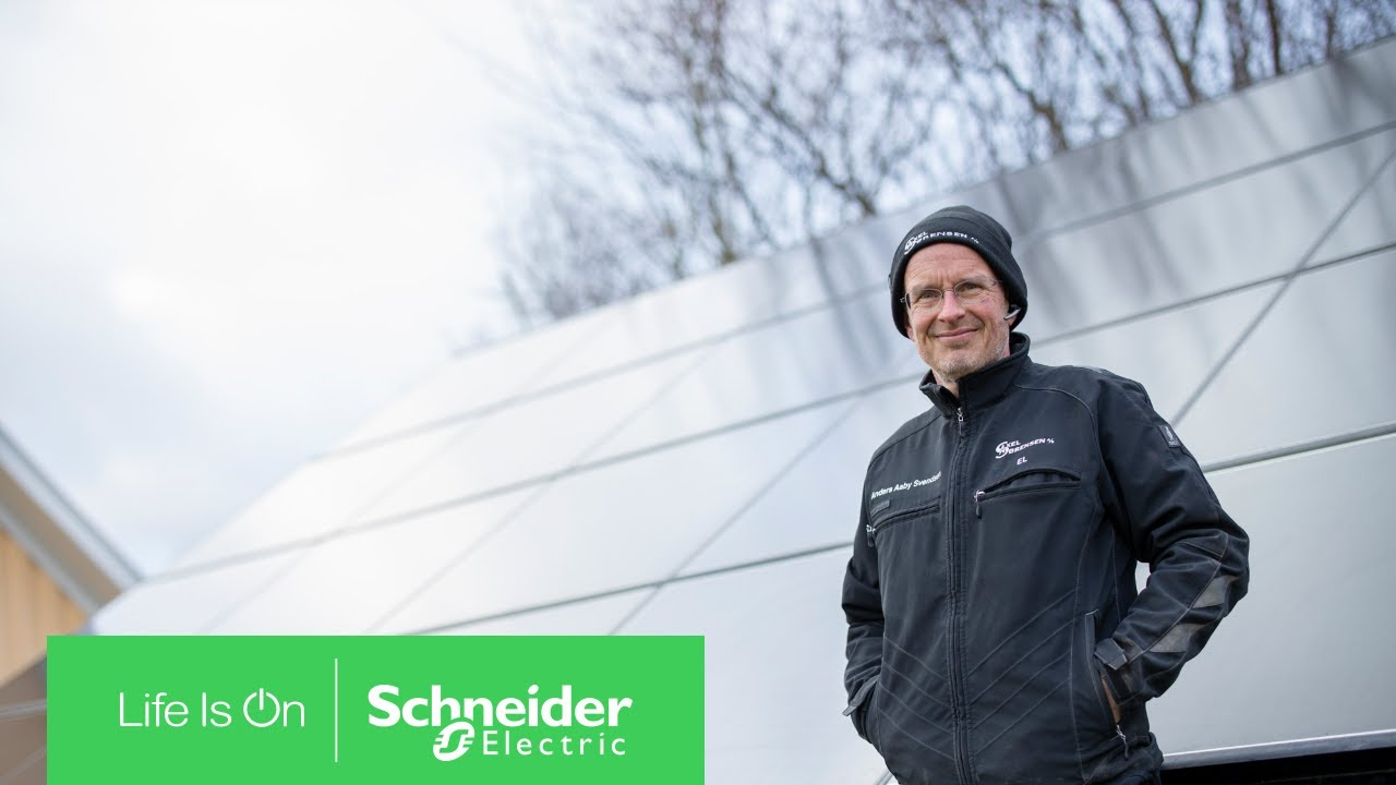 Energy Management by Wiser Allows Anders to Optimize Solar Energy Consumption at home