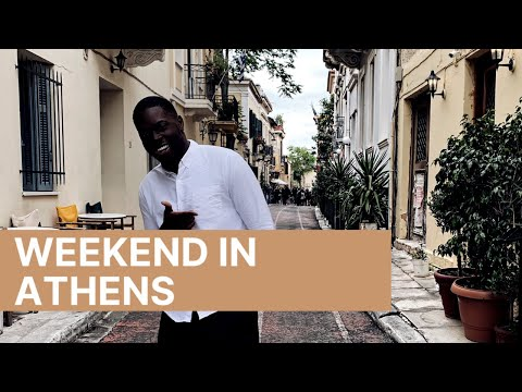 WEEKEND TRIP TO ATHENS