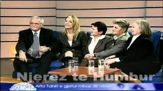 Repeat youtube video Njerez te Humbur - Arta Tahiri (gjetja pas 38 vjetesh) 9 shkurt 2007