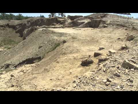 Jericho - a tour of the ancient city in the world- conquered by Joshua (Tell es-Sultan)