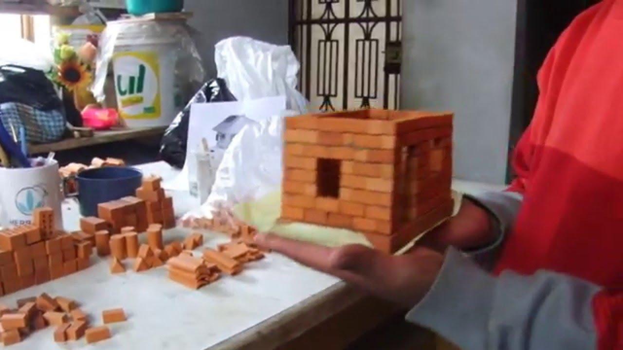 Ladrillos peque os para construir doovi - Como hacer tabiques ...