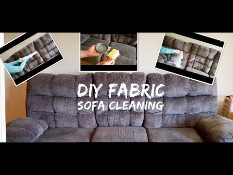 DIY Fabric sofa cleaning| How to clean fabric sofa at home