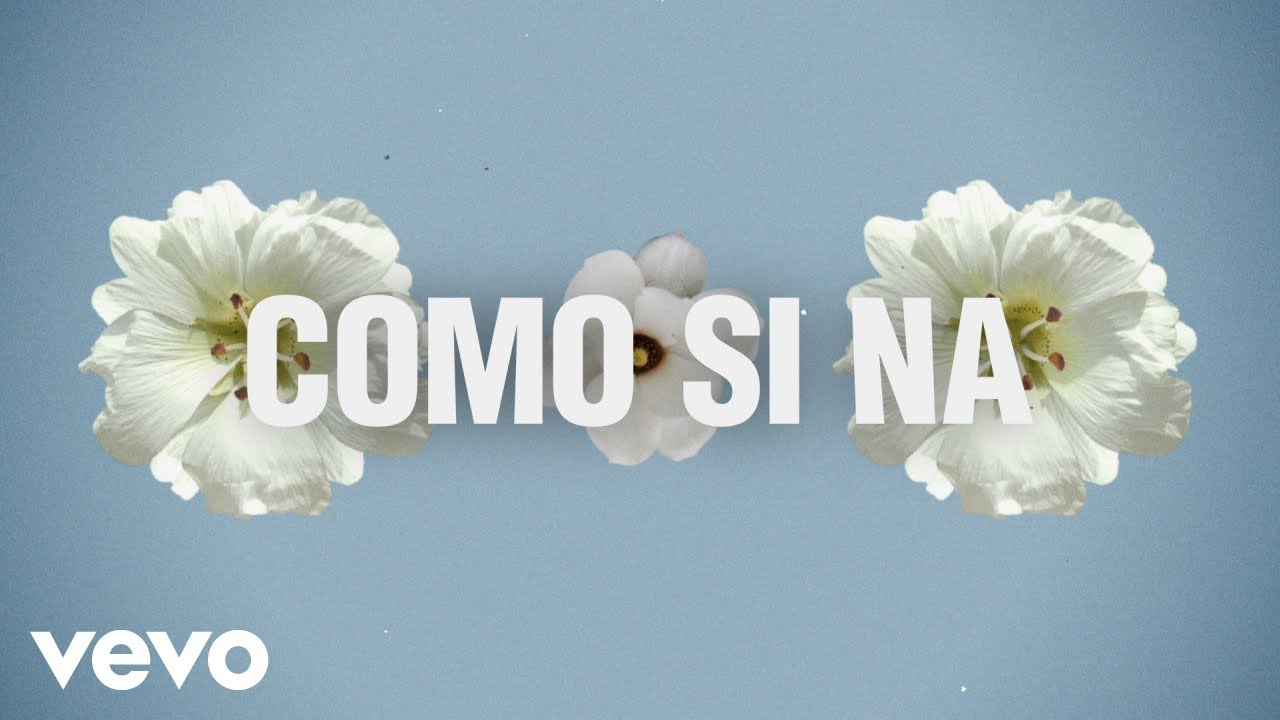 Melii - Como Si Na (Lyric Video)
