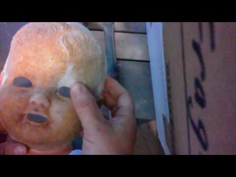 Composition Doll Eye Replacement