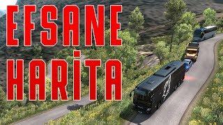 Bu Harİtayi Kesİnlİkle Oynamalisiniz!   Euro Truck Simulator 2