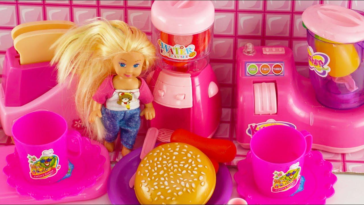 Mainan Anak Perempuan Masak Mainan Barbie Masaka Mainan Memasak Barbie Girls Cook Toys Mainan Anak Youtube