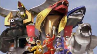 Power Ranger Fuerza Salvaje   Primera batalla con los wild zords