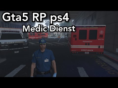 Gta5 Roleplay ps4|Medic Dienst|Crazy-Life|Road to 1300Abos