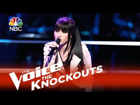 "The Voice 2015 Knockouts - Mia Z: ""Hold On, I'm Comin"""