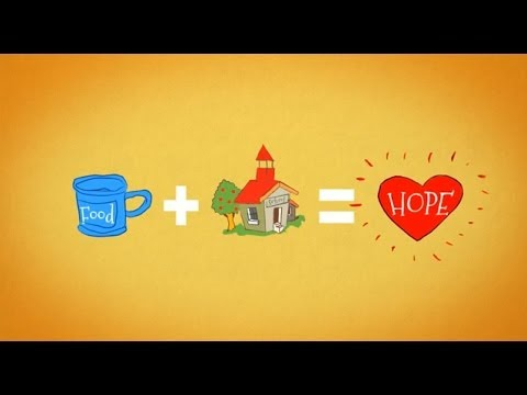 Share with children through Mary's Meals