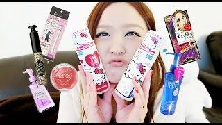 Japanese Makeup & Skincare Haul (Shiseido, Canmake, Kiss Me, Majolica Majorca, Kate)