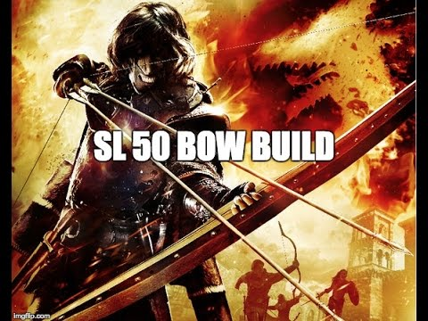 Dark Souls 3 - SL 50 Bow/Dex Sniper Build & Stealth Invader Guide