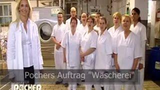 Oliver Pocher in der Wäscherei - Ein Tag als Waschweib