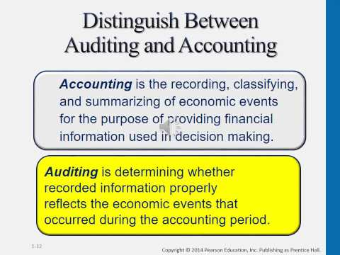 CHAPTER 1 - THE DEMAND FOR AUDIT AND OTHER ASSURANCE SERVICES