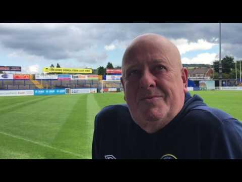 Gary Lewis radio interview with BBC Manchester towards the end of the 2017-18 season