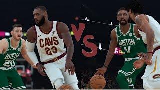 NBA 2K18 Opening Night-LeBron James & Derrick Rose Highlights vs Celtics  2017.10.17