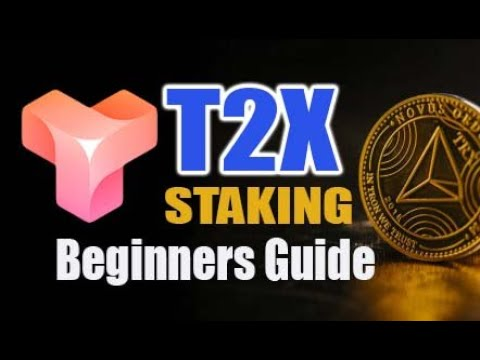 T2X STAKING - Beginners Guide