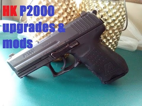 HK P2000 upgrades and modifications