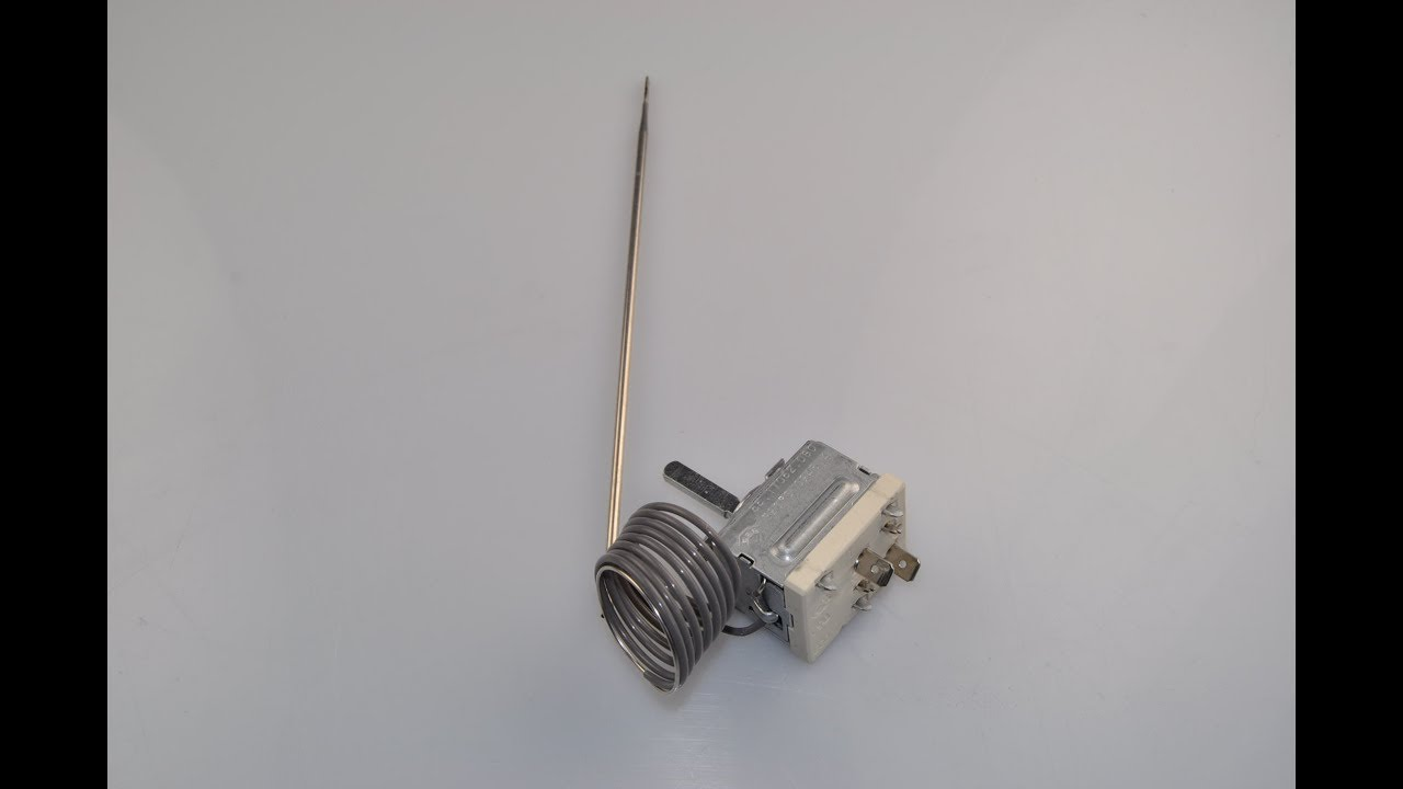 Gorenje Kühlschrank Thermostat Wechseln : Ofen thermostat wechseln videoanleitung youtube