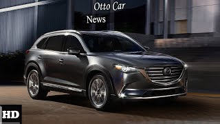 HOT NEWS  !!! 2018 Mazda CX 9 Exterior Overview