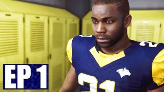 MADDEN 21 Face Of The Franchise | HIGH SCHOOL GAMEPLAY (Rise to Fame Career Mode) Ep 1