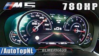 780HP BMW M5 F90 Elmerhaus ACCELERATION 0-267km/h LAUNCH CONTROL by AutoTopNL