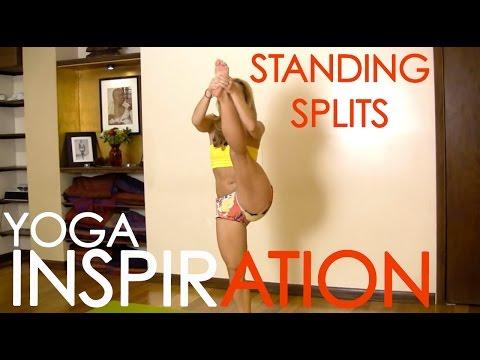 Standing Splits In Ashtanga Yoga, Trivikramasana With Kino