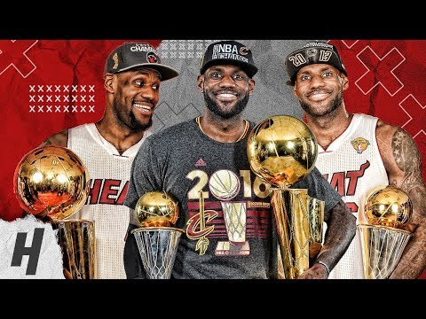 LeBron James BEST Highlights & Moments from ALL 9 NBA Finals | 2007, 2011-2018