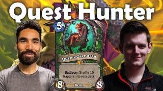 Lifecoach's First Quest Hunter Game [Journey to Un'Goro Day 1]