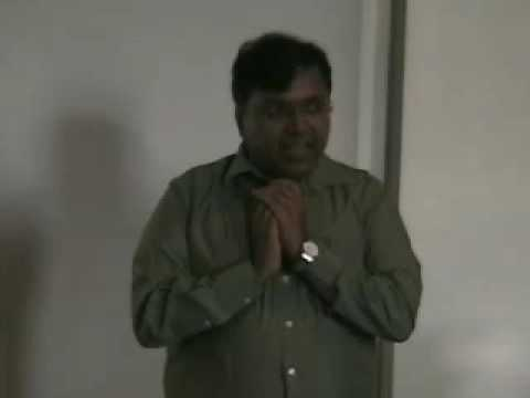"""2010 """"Mythic Origins of Ahimsa (non-violence)"""" seminar - Dr. Devdutt Pattanaik from New Delhi, India"""