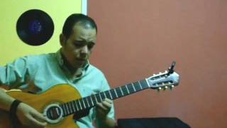 خليك فاكرني - جيتار شريف الجسر - Sherif Elgesr Guitar Cover - Amr Diab