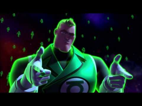 Green Lantern Corps vs The Manhunters