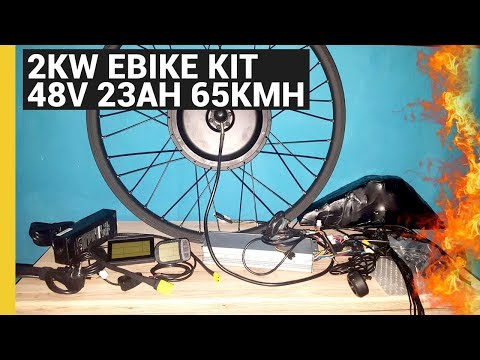 "eBikeundSo 27,5"" 2kw eBike Kit - Notfallknopf - 48V 23Ah Akku - 65kmh - eBikeundSo"