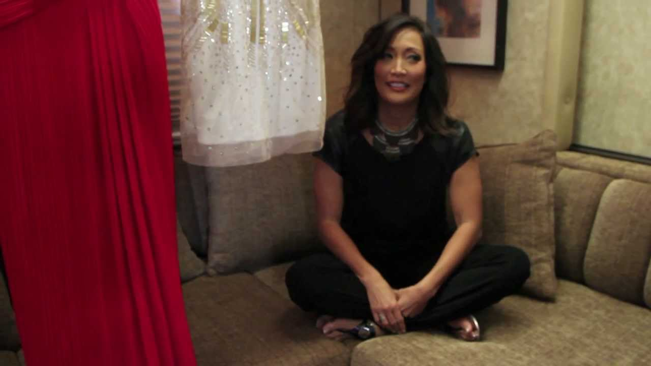 On The Set With Dancing With The Stars' Carrie Ann Inaba ...