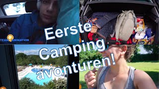 Lotte VLOG #3 - Eerste campingavonturen | Team4Animation