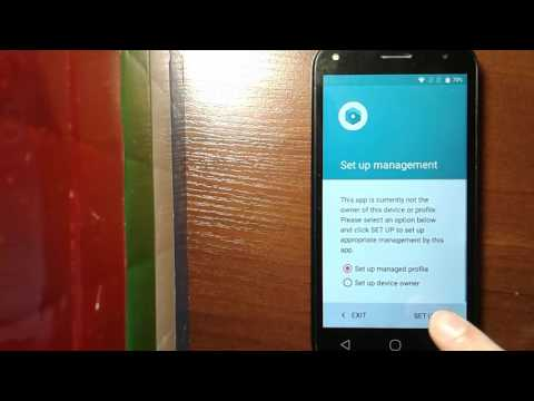 Disable / Bypass Google Account Lock on ALCATEL ( FRP Bypass )