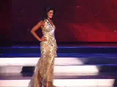 Brazil - Miss Universe 2008 Presentation - Evening Gown - YouTube