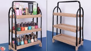 Multi Use... Best Out Of Waste Idea 2019 || DIY Room Organizer !!!