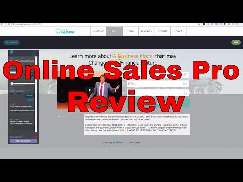 Online Sales Pro Review – Best Internet Marketing Software?